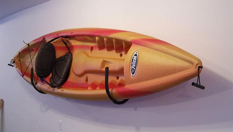 kayak wall storage