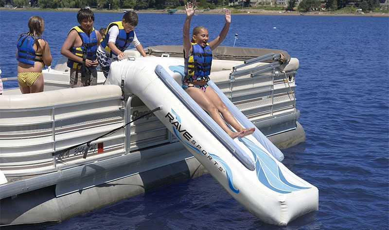 pontoon slide